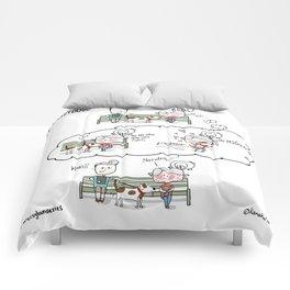 #Crazydoglady Comforters