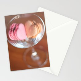 Valentine macarons Stationery Cards