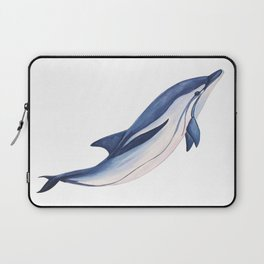 Striped baby dolphin Laptop Sleeve