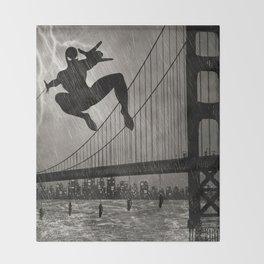 Spider-Man Walk Throw Blanket