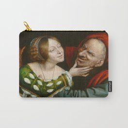 Quentin Massys - Ill-Matched Lovers Carry-All Pouch