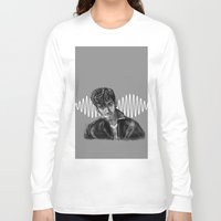 alex turner Long Sleeve T-shirts featuring Alex Turner by Luna Perri