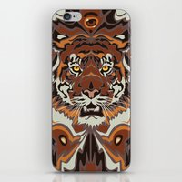 tigers iPhone & iPod Skins featuring Tigers by Darish