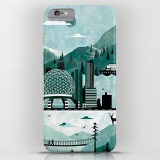 Vancouver Travel Poster Illustration iPhone 6 Plus Slim Case