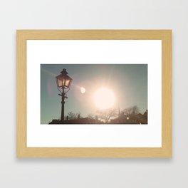 The Sun Stays the Same Framed Art Print