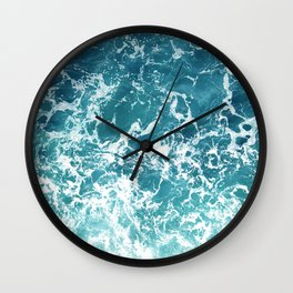 Print 213 - Ocean Water 3 Wall Clock