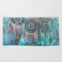 Dreamcatchers Beach Towel