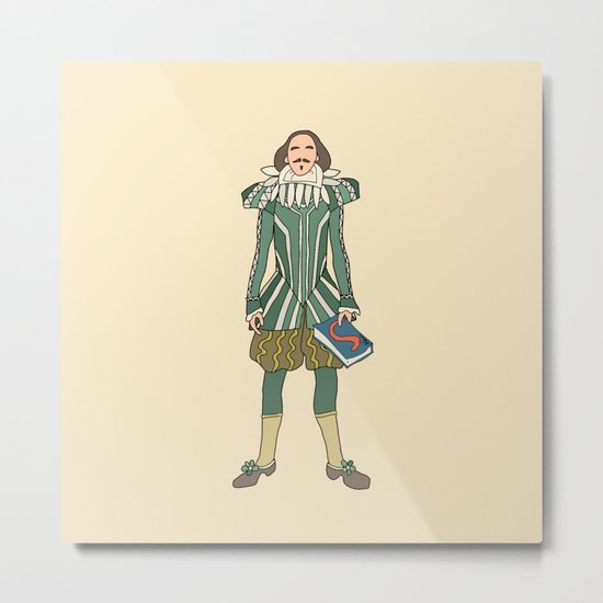 Outfit of Shakespeare Metal Print