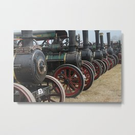 Steam Up! Metal Print
