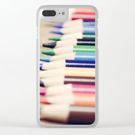 Colorful Life Clear iPhone Case