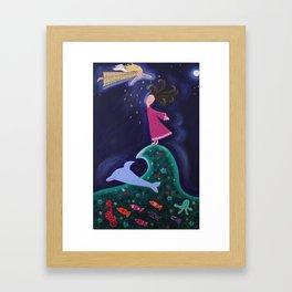 """""""Free"""" Framed Art Print"""