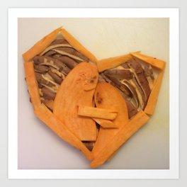 Sweet Potato Love Art Print