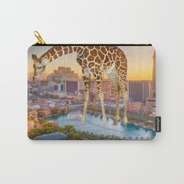 Giraffe in Las Vegas Carry-All Pouch