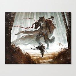 The smallest Hero Canvas Print