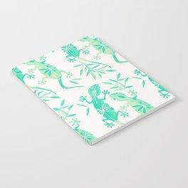 Geckos – Mint Palette Notebook