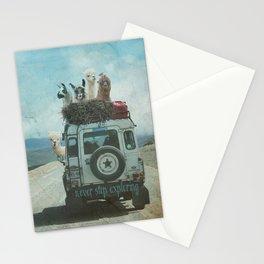 ALPACA WANDERLUST II SUMMER EDITION Stationery Cards