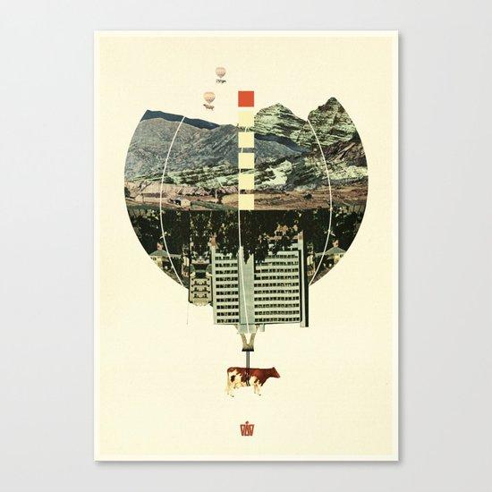 Waltz for Koop Canvas Print