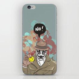 NO! Rorschach iPhone Skin