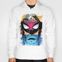 comic book Hoodies featuring Comic by Molnár Roland