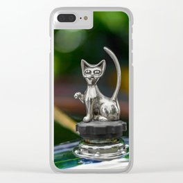 Cat Bonnet Mascot Clear iPhone Case