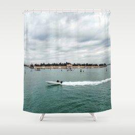 San Michele Island - Venice Shower Curtain