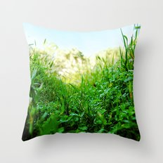 Microcosmo Throw Pillow