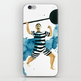 The Weightlifter iPhone Skin