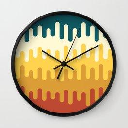 paint pattern Wall Clock