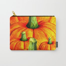 SURREAL REDDISH ORANGE FALL PUMPKINS Carry-All Pouch