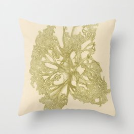 delicate starfish Throw Pillow
