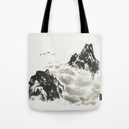 Mountain high Tote Bag