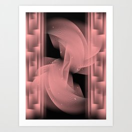 Illusion of stability Art Print