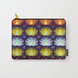 Variations on a Lotus I - Sparkle Brightly Carry-All Pouch