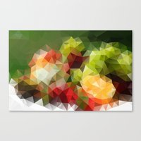 fruits Canvas Prints featuring Fruits by Veronika