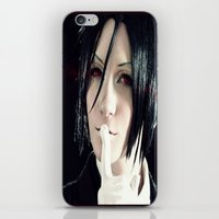 kuroshitsuji iPhone & iPod Skins featuring Sebastian by Lalasosu2