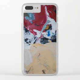 The Artist's Remains #2 Clear iPhone Case