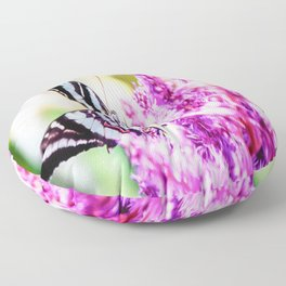 Beautiful Butterfly Floor Pillow