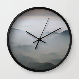Mountains mood 2 Wall Clock