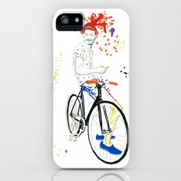 Bicycle Another Life-Cycle iPhone Case