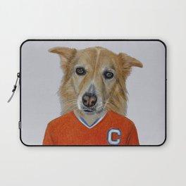 dog in sportwear Laptop Sleeve
