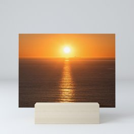 Sunset Photography, Sunset Over The Farallon Islands, San Francisco, California, Beautiful Sunset Photography Mini Art Print