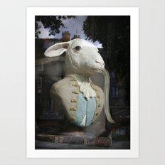 Monsieur Mouton Art Print