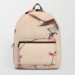 Peach Tree Robin Backpack
