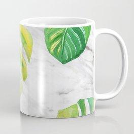 Tropical lush marble Coffee Mug