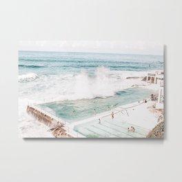 Bondi Beach - Bondi Icebergs Club Metal Print