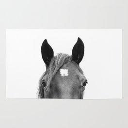 Peeking Horse Rug