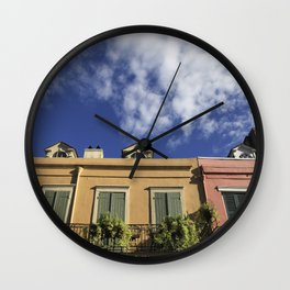 New Orleans French Quarter Sky Wall Clock