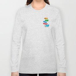 Asthmatic skateboarders unite Long Sleeve T-shirt