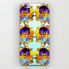 Royal Pansy iPhone & iPod Skin