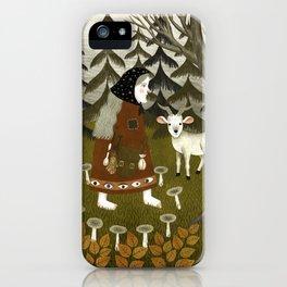 Galiena's goat iPhone Case
